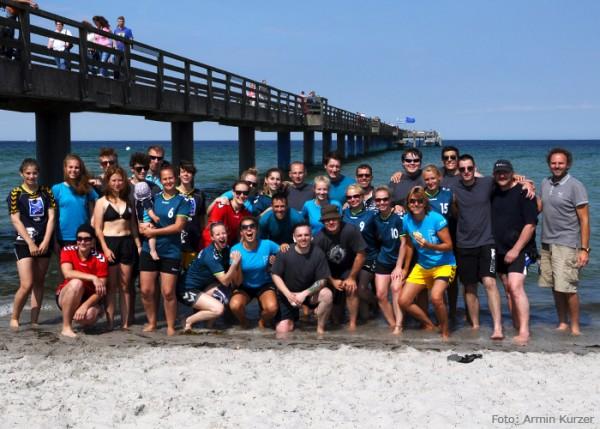 Eichstädter Teams am Boltenhagener Strand